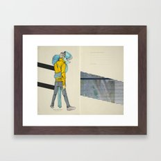 Believe And/Or Tremble Framed Art Print