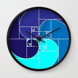 SEULEMENT BLEU Wall Clock