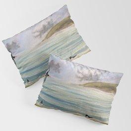 Oystercatcher Seashore Pillow Sham