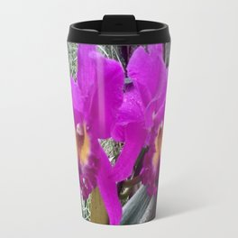 Fuchsia Orchids Travel Mug