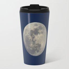 Super Blue Moon 2018 sunrise. Blue sky at sunset Travel Mug