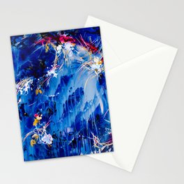 As The Universe Falls Together Stationery Cards