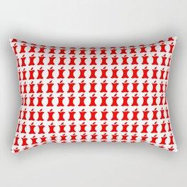 Steve's Leftovers Rectangular Pillow