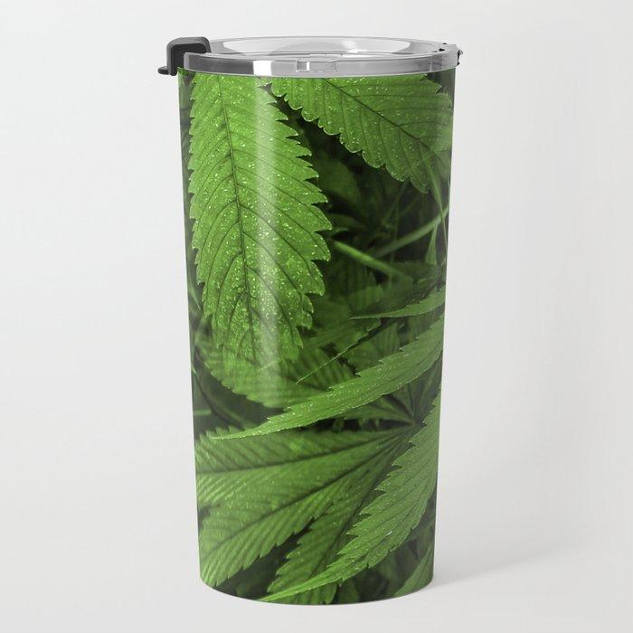 Marijuana Plants Photo Travel Mug