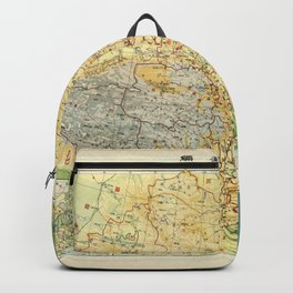Map of China (1947) Backpack