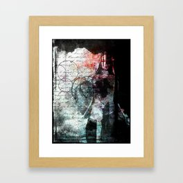 The Writing on the Wall Framed Art Print