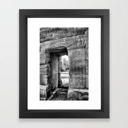 Temple of Kom Ombo, Egypt Framed Art Print