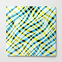 Abstract , multicolor 2 Metal Print