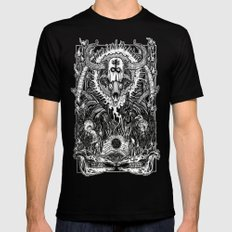 Witching SMALL Mens Fitted Tee Black