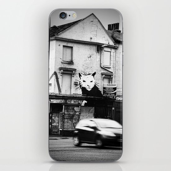 Banksy's rat iPhone & iPod Skin