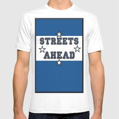 Streets Ahead MEDIUM Mens Fitted Tee White