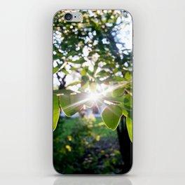Burst of light iPhone Skin