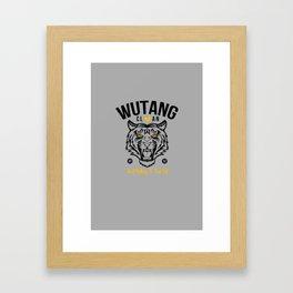 WuTangClan Tiger Framed Art Print