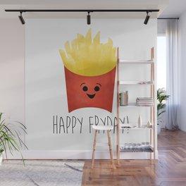 Happy Fryday! Wall Mural