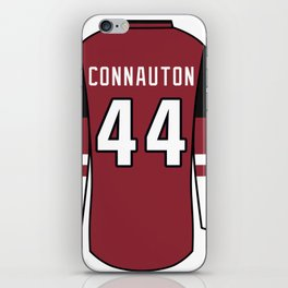 Kevin Connauton Jersey iPhone Skin