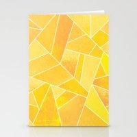 sunshine Stationery Cards featuring Sunshine by Elisabeth Fredriksson