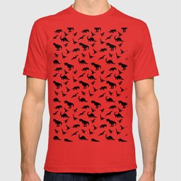 Dino pattern T-shirt