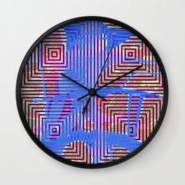 Trance Residue Wall Clock