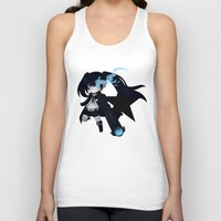 vocaloid Tank Tops featuring Black Rock Shooter by Nozubozu