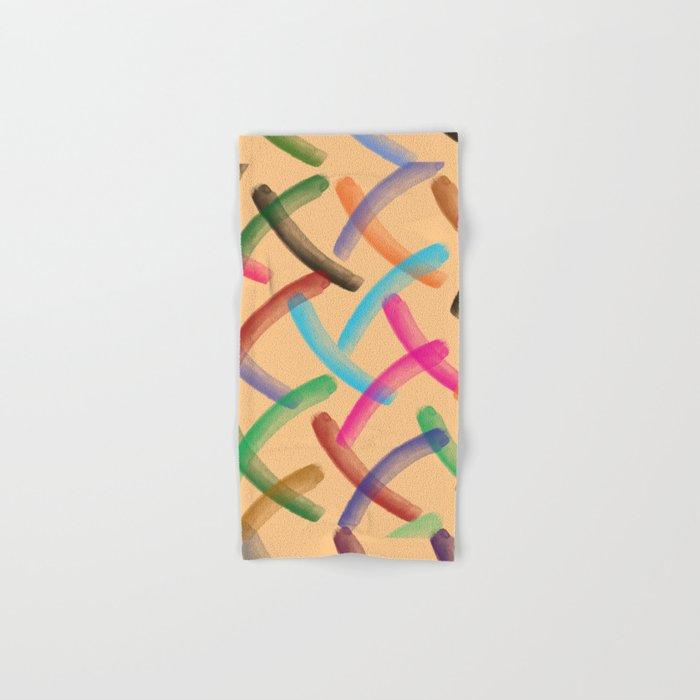 Colourful patterns Hand & Bath Towel