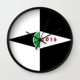 Cabsink16DesignerPattern16 Wall Clock