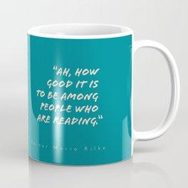 To Be Among Readers Coffee Mug