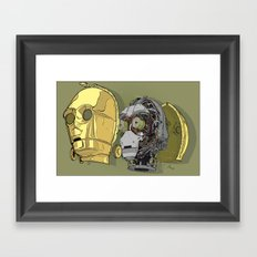 C Thru PO Framed Art Print