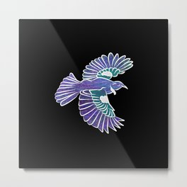 Tui New Zealand Bird Metal Print