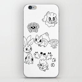 Pokemen  iPhone Skin