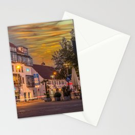 Laupheim by night Stationery Cards
