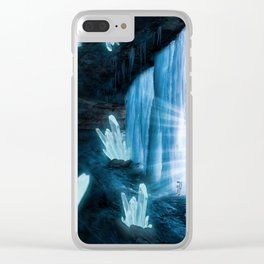 Crystal Planet Clear iPhone Case