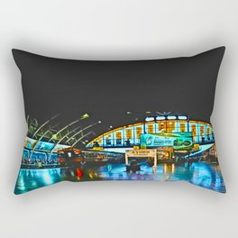 Last Train From Thailand Rectangular Pillow