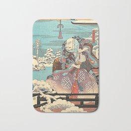 Hiroshige Bath Mat