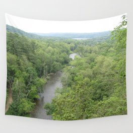 River in the Mist Wall Tapestry