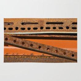 Orange Angle Rug