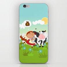 The milkmaid iPhone Skin