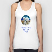 caleb troy Tank Tops featuring The Adventures Of Troy I by Louisa Catharine Photography And Art
