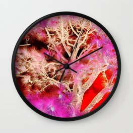 Though the clutter Wall Clock