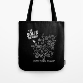 The Solid Verbal Tote Bag