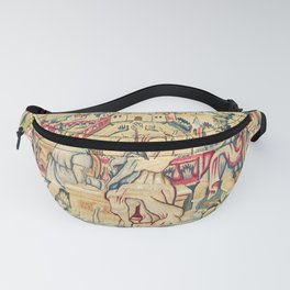 Susanna and the Elders 16th Century German Tapestry Print Fanny Pack