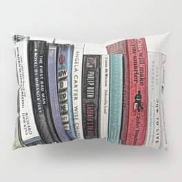 Book shelf love- we are what we read Pillow Sham