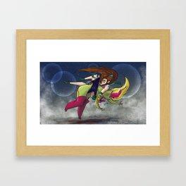 Ultimate Fighting Senshi - Jupiter Framed Art Print
