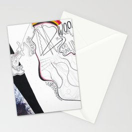 Osmosis: A Graphic Score Stationery Cards