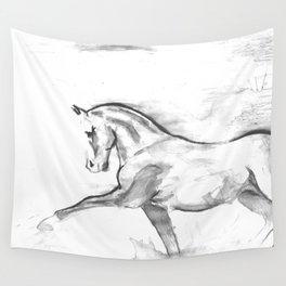Totilas black & white Wall Tapestry