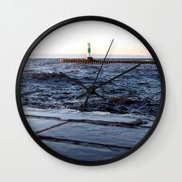 Grand Haven North Pier Wall Clock