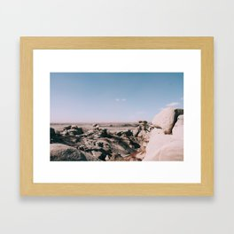 Bisti De-Na-Zin Wilderness New Mexico Landscape I Framed Art Print