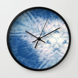Pattern of clouds 15 Wall Clock