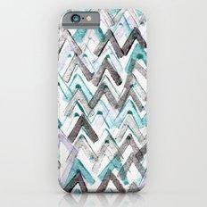 ZigZag Blue iPhone 6s Slim Case