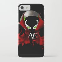 spawn iPhone & iPod Cases featuring Chibi Spawn by artwaste