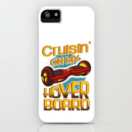 Hover Board Scooter iPhone Case
